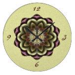 Mandala del caleidoscopio de la flor del cactus