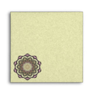 Mandala del caleidoscopio de la flor del cactus sobres