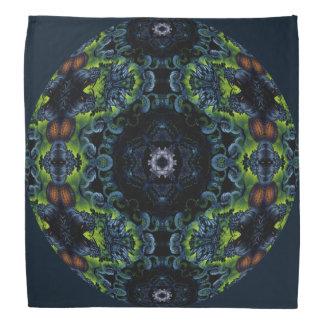 Mandala del caleidoscopio de la oscuridad del bandanas