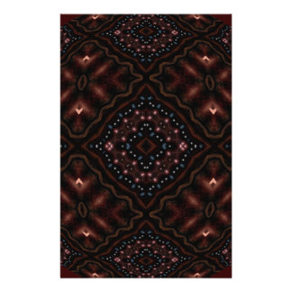 """Mandala del caleidoscopio de la oscuridad que folleto 5.5"""" x 8.5"""""""