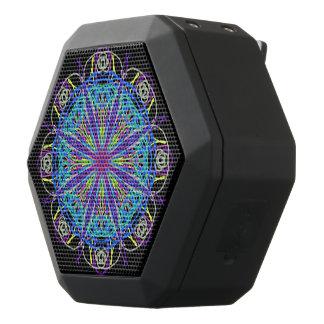 Mandala del caleidoscopio del amor de la música de altavoces bluetooth negros boombot REX