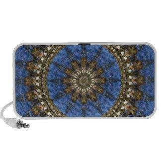 Mandala del cangrejo azul iPod altavoz