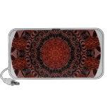Mandala del chocolate y de las fresas, abstracta iPod altavoz