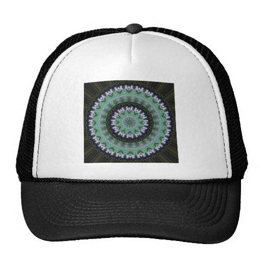 Mandala del colibrí gorras de camionero