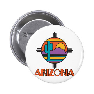 Mandala del desierto de Arizona Pins