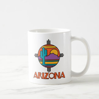 Mandala del desierto de Arizona Taza Clásica
