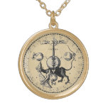 Mandala del emblema de la cábala pendiente personalizado