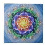 Mandala del espectro de Sealife Tejas Cerámicas