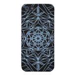 mandala del extracto de la estrella del caso del i iPhone 5 protectores
