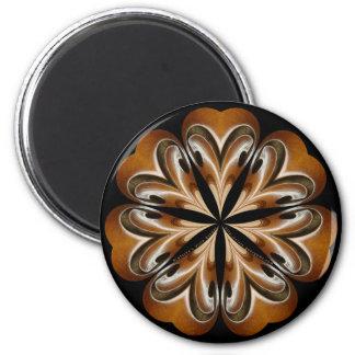 Mandala del F-agujero de la viola Imán Redondo 5 Cm