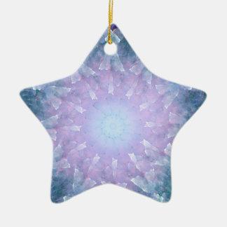Mandala del fractal de Fiyrnaheh Adorno De Navidad