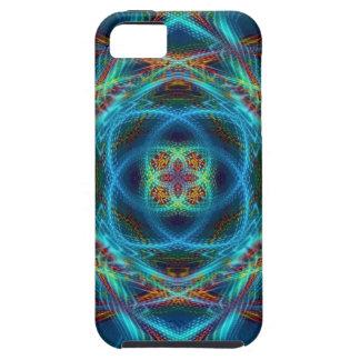 mandala del fractal del caso del iPhone 5 iPhone 5 Case-Mate Cárcasa