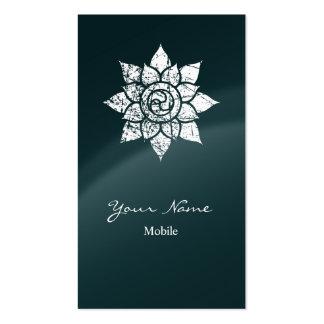 Mandala del Grunge Plantilla De Tarjeta Personal