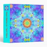Mandala del hippy de la estrella azul modelada