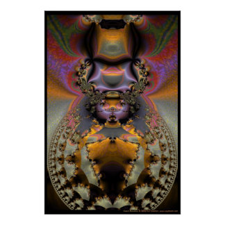 Mandala del insecto poster