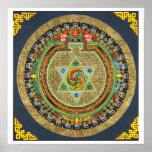 Mandala del mantra de Vajrayogini Poster