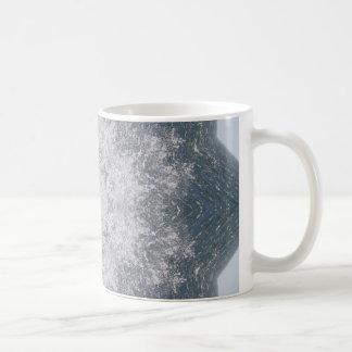 Mandala del océano taza de café