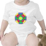 Mandala del optimismo trajes de bebé