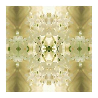Mandala del ramo del flor impresiones en lona estiradas