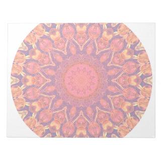 Mandala del resplandor solar - danza abstracta del bloc de papel