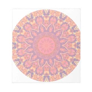 Mandala del resplandor solar - danza abstracta del bloc
