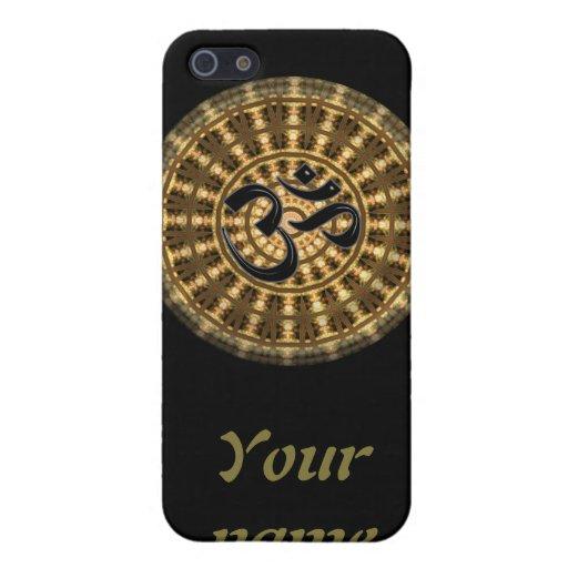 Mandala del ritmo del OHMIO iPhone 5 Carcasa