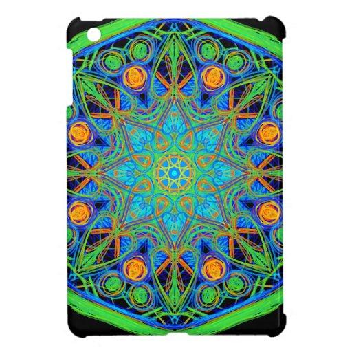 Mandala del verde azul