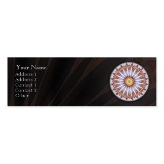 Mandala deliciosa - tarjeta de visita del perfil
