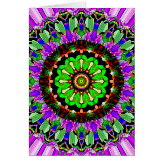 Mandala Design 1 Card