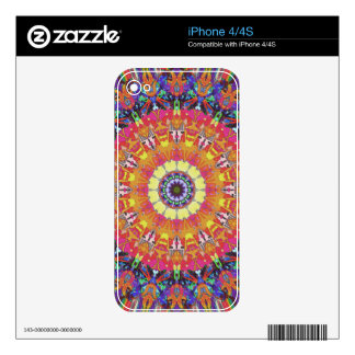 Mandala Design 4 Skins For The iPhone 4