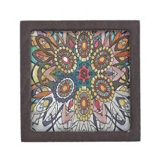 Mandala designs art gifts jewelry box
