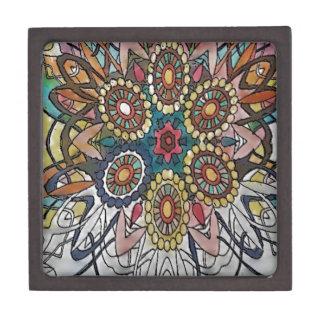 Mandala designs art gifts keepsake box