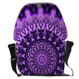 Mandala determination created by Tutti Courier Bag