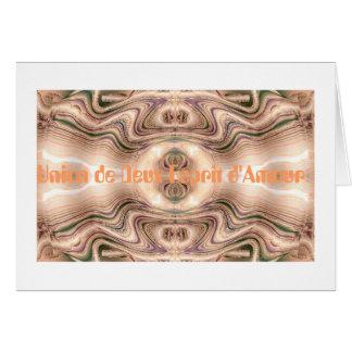 Mandala d'Harmonie de Communication Card