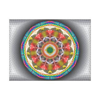 Mandala Diligência - Impressão em canvas