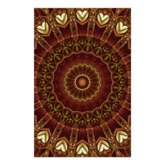 Mandala Divine Love no. 3 created by Tutti Customized Stationery