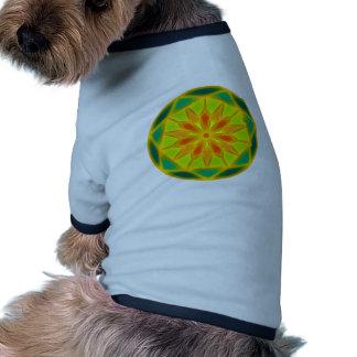 mandala doggie tshirt