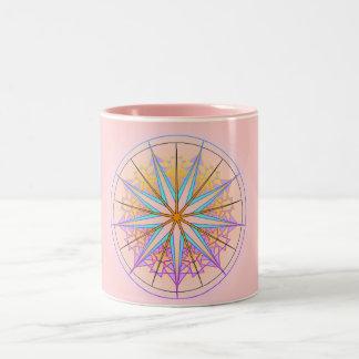 Mandala Dream 95 Two-Tone Coffee Mug