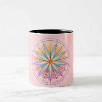 Mandala Dream 9 Two-Tone Coffee Mug