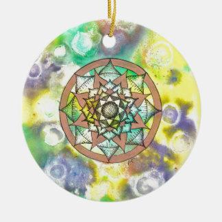 Mandala Dream Ceramic Ornament