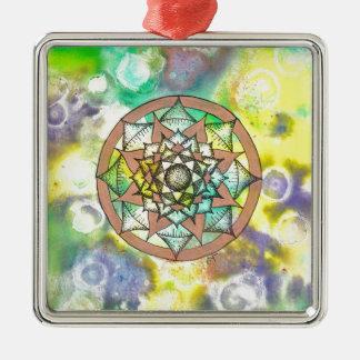 Mandala Dream Metal Ornament