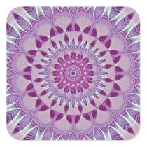 Mandala Dreamcatcher Square Sticker