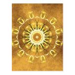 Mandala earth no. 2 created by Tutti Post Card