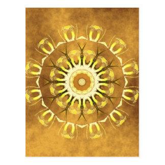 Mandala earth no. 2 created by Tutti Postcard