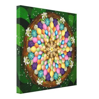 Mandala Easter Eggs Canvas Print