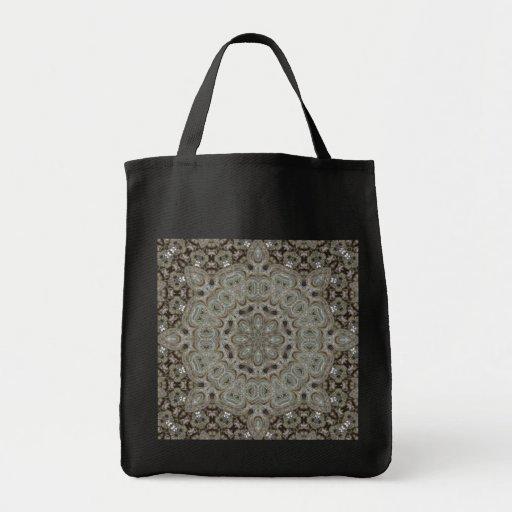 Mandala elaborada de Steampunk Bolsa Tela Para La Compra