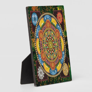 Mandala Elements Plaque