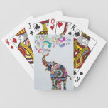 """Mandala Elephant Playing Cards<br><div class=""""desc"""">Hand drawn and inked.</div>"""