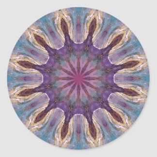 Mandala 'Elves' Classic Round Sticker