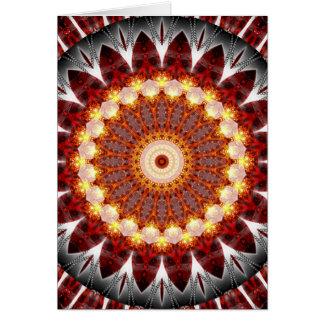 Mandala ement fire created by Tutti Card